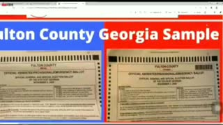 Georgia Ballots LACK Barcodes - Different Ballots