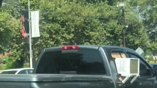 Hot Day Leads to Creative Solution for Truck Driver