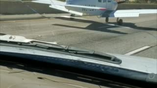 Plane Lands on Freeway, Merges Perfectly