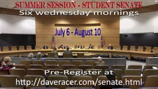 Student Senate Summer Session