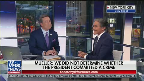 Geraldo Rivera goes off on Mueller