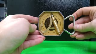 "Custom ""A"" Hunting Fishing Belt buckle -RT ARTISAN WORKS"