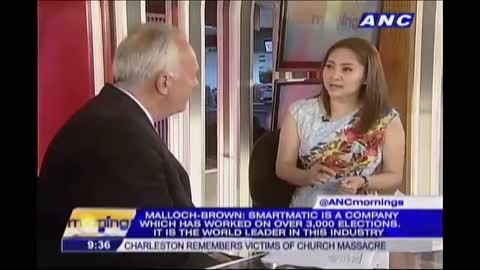 WATCH: Mark Malloch Brown admits license agreement between Smartmatic and Dominion