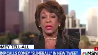 Maxine Waters: Trump Is the Most 'Despicable,' 'Deplorable' Human 'I've Ever Encountered'