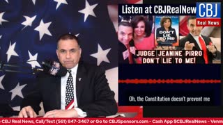 CBJ Real News Show (Part 137): Biden's America Last