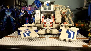 TRANSFORMERS Titans Return Power Master OP - Video
