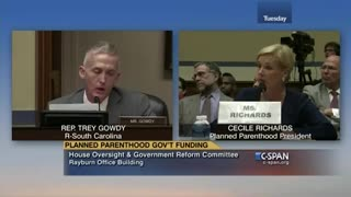 Cecille Richards testifying to Congress