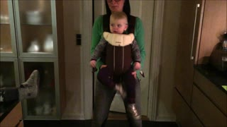 Dancing baby hilarious ragdoll moves - Video
