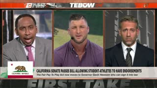 Tim Tebow slams new CA bill that would allow college athletes to get paid
