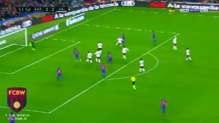 Gol de Messi (2) vs Valencia - Video