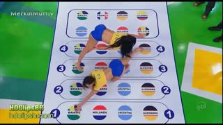Brazilian Girls Playing Twister - Video