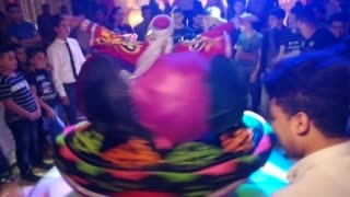 Dancer Special Show In Weddings With Umbrella's