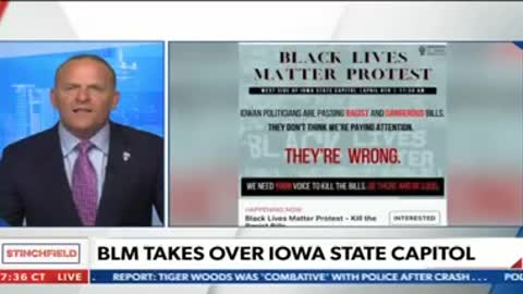 Stinchfield Highlights Iowa Insurrection as Reported at The Gateway Pundit