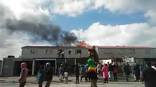 Manenberg Wendy house fire