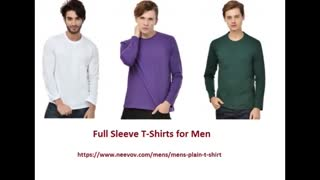 Solid Red Colour Half Sleeve T Shirts - Video