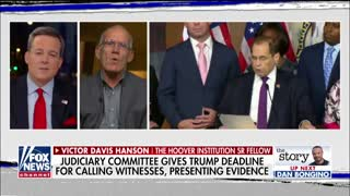 Victor Davis Hanson: Dems trying to impeach Trump on 'thought crimes'