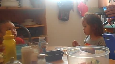 Toddler thinks she is going to drink Pepsi Prank