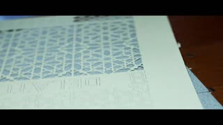 Very Precise Paper Artwork (by Mohammed El Hayoui  Directed by Federico Guercio) - Video