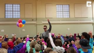 Teacher Surprised With Enchroma Glasses From Students - Video