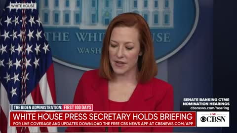 Jen Psaki dodges another question