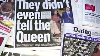 Meghan accuses UK royals of racism