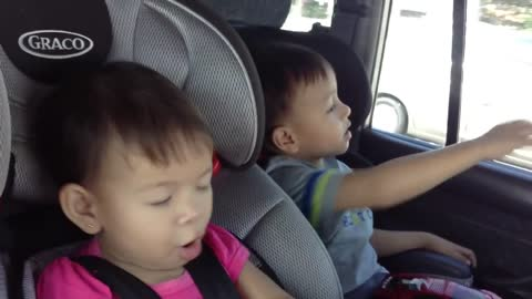 4-year-old sings Frozen's 'Let It Go' with baby sister