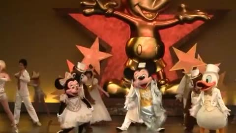 Disney Land Show On Stage