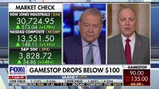 Congressman Biggs and Stuart Varney discuss issues at the border