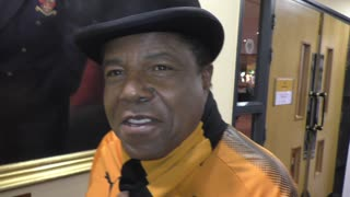 Nathan Judah catches up with Tito Jackson at Molineux - Video