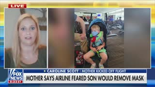 Mom Says Family Was Kicked Off Flight Over Fears Her 3-Year-Old Son Would Remove His Mask