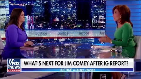 WATCH: Sarah Sanders Goes on Fox with Judge Jeanine, Absolutely Wrecks James Comey