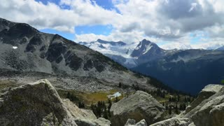 Time lapse: Stunning mountain range in British Columbia, Canada - Video