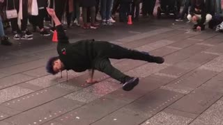Talented Street Dancers in Times Square