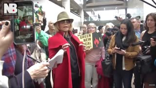 Jane Fonda Says She's Fighting Climate Change By Not Buying Any New Clothes