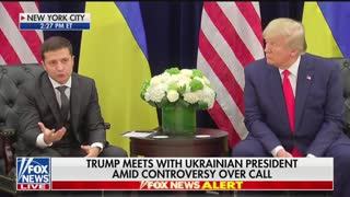 Trump/Ukrainian president press conference part 2