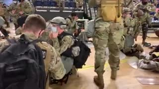 National Guard Troops Arrive in D.C. Ahead of Biden's Inauguration