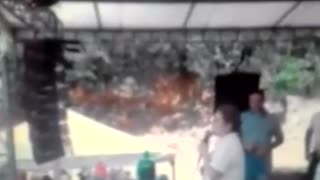 Video tomado en el municipio de Barichara