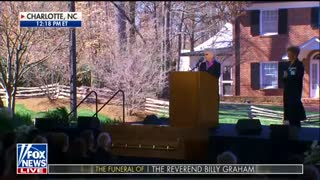 Billy Graham's Sister Reveals What Trump Told Her About the Preacher's Family Backstage - Video