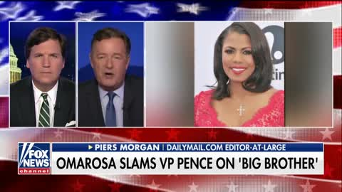 Piers Morgan Drops Bomb on Omarosa
