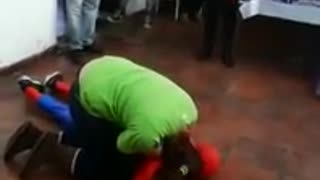 Spiderman Knocks Himself Out - Video