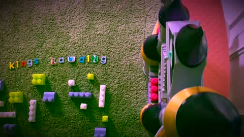 Dad uses daughter's toys to recreate 'Game Of Thrones' theme song
