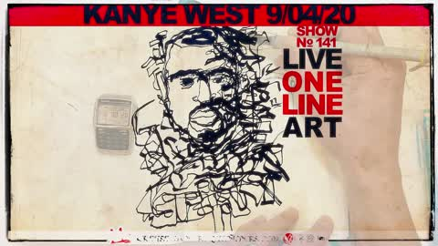 Drawing Kanye West to Wash us in the Blood | Live in Real-Time