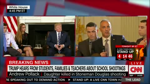 """I'm Pissed"": Parkland Father Calls on Trump to Fix School Security"