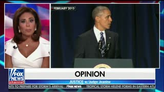 Jeanine Pirro reminds Obama: 'You, Barack, You Elected Donald Trump'
