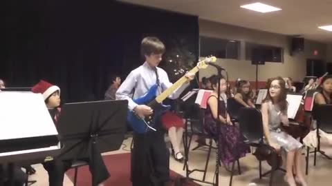 Check Out This 10-Year-Old Totally Crushing Van Halen Guitar Solo
