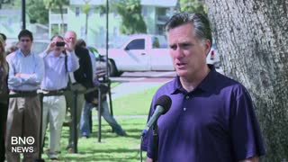 Former Presidential Candidate Mitt Romney Announces Utah Senate Bid - Video