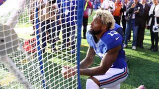 Odell Beckham Jr. Explains Relationship With Kicking Net - Video