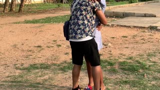 Man Sees His Sister After Seven Years Away