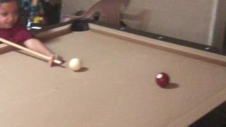 Almost a pool player