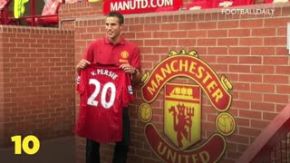 Top 10 Most Expensive Manchester United Signings - Video